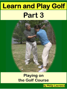 Learn and Play Golf-Part 3 DVD