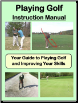 """eBook: Playing Golf Instruction Manual"""