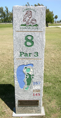 Hole No. 8 at Sombrero Country Club